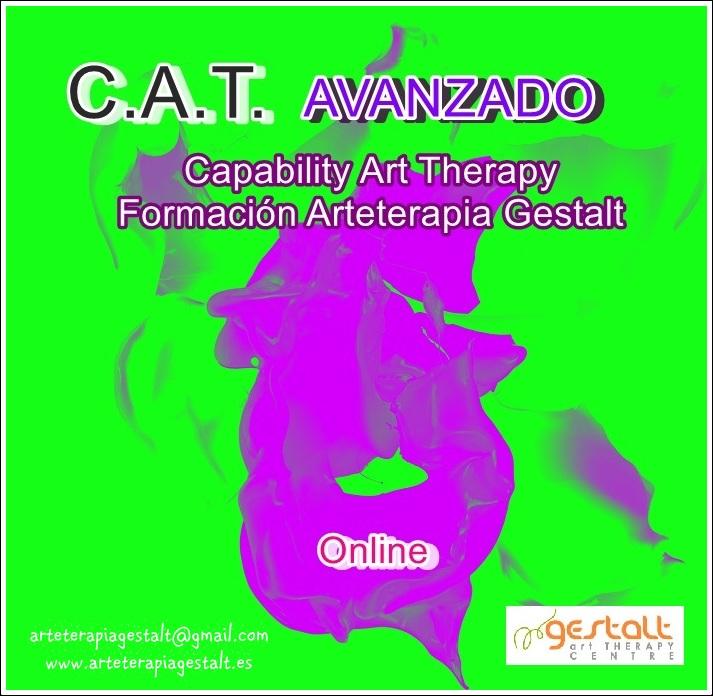 imagen: 2017 Formación ONLINE- C.A.T AVANZADO- Capability Art Therapy Arteterapia Gestalt
