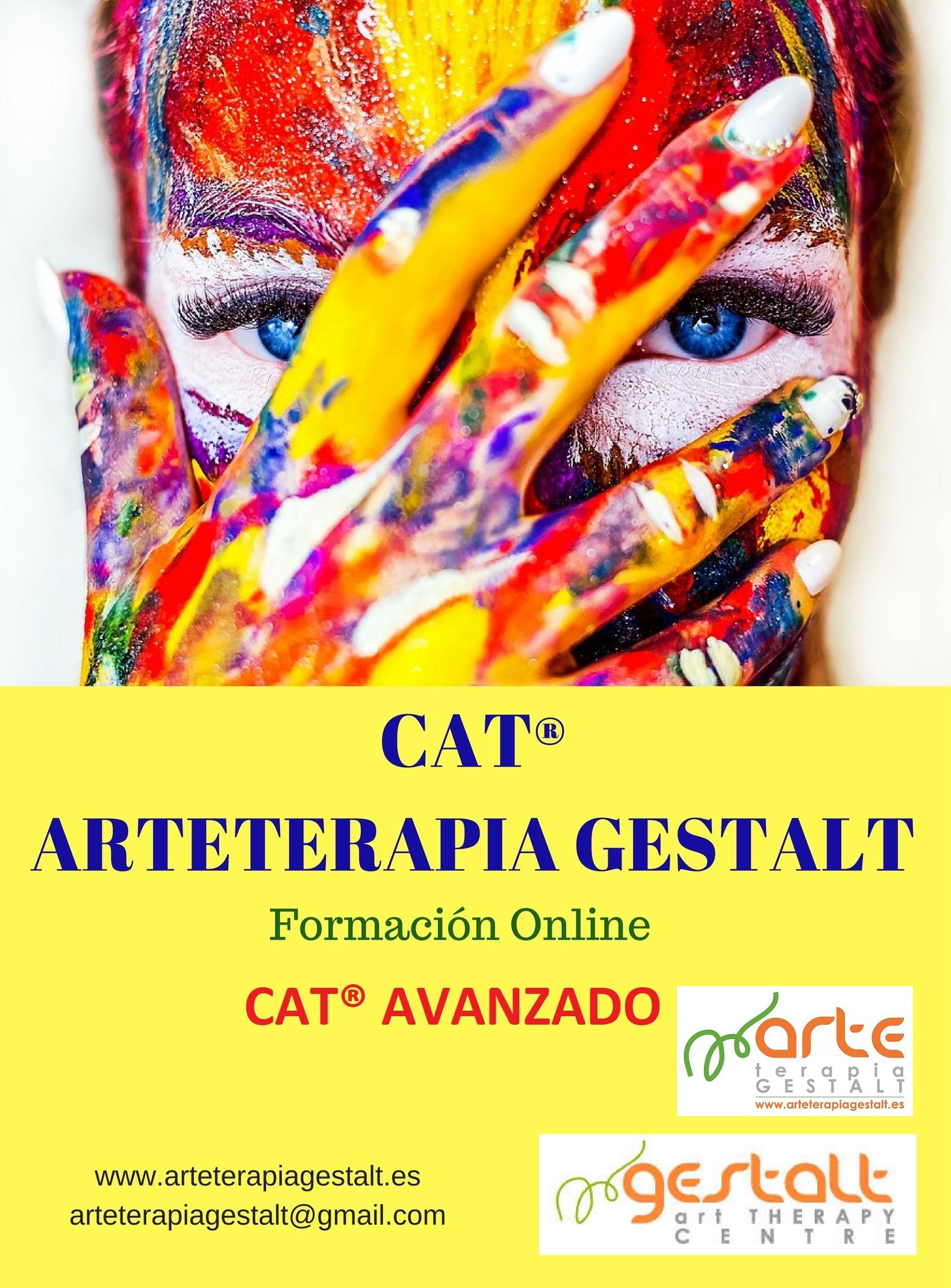 imagen: 2019 Formación ONLINE- CAT® AVANZADO- Capability Art Therapy Arteterapia Gestalt