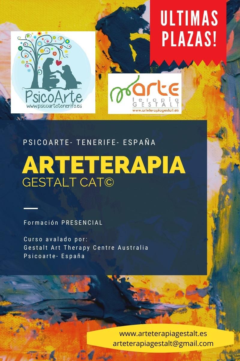 imagen: 2020 Formación PRESENCIAL CAT® Arteterapia Gestalt Avanzado- Psicoarte- TENERIFE- España