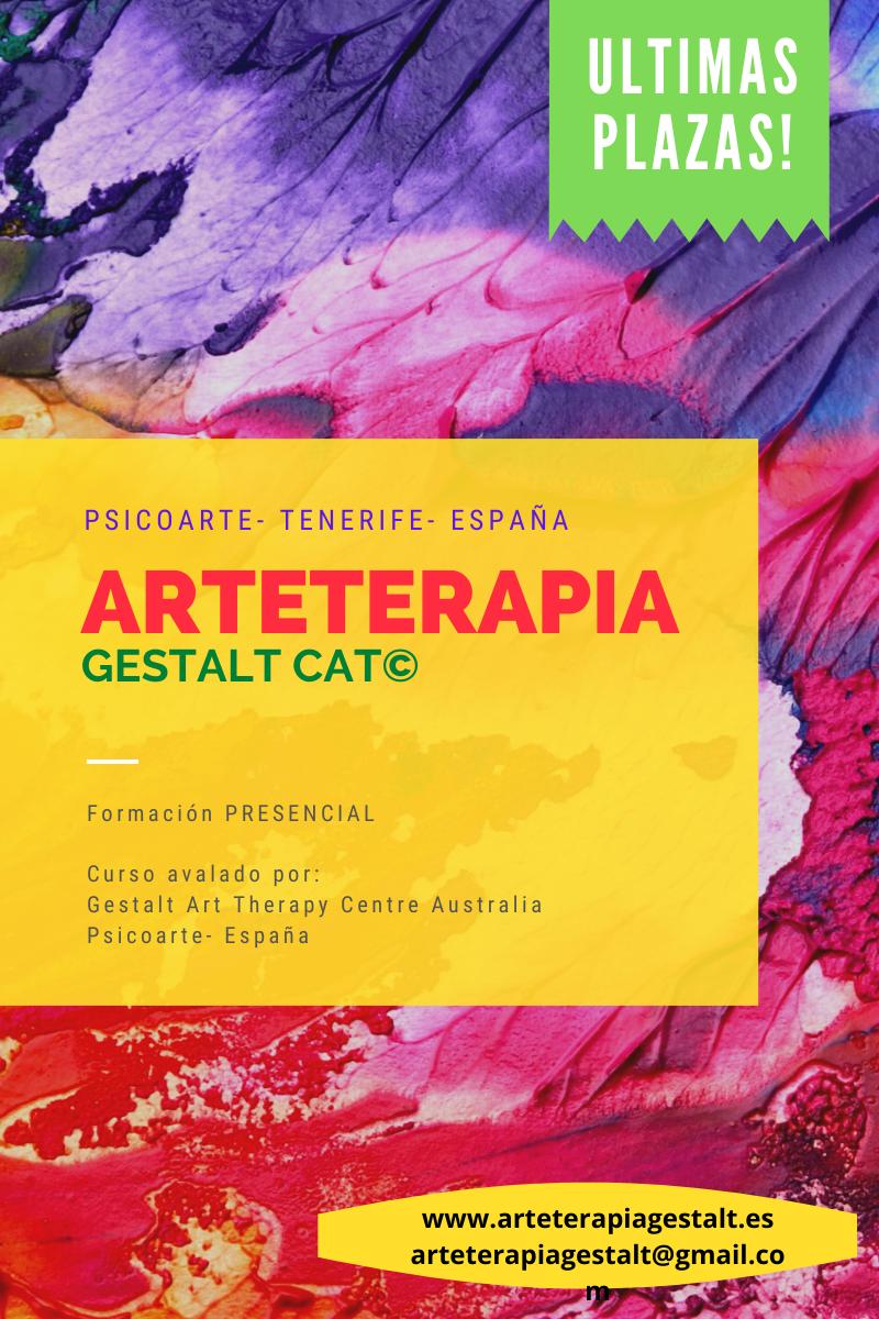 imagen: 2021 Formación PRESENCIAL CAT® Arteterapia Gestalt - Psicoarte- Tenerife- España