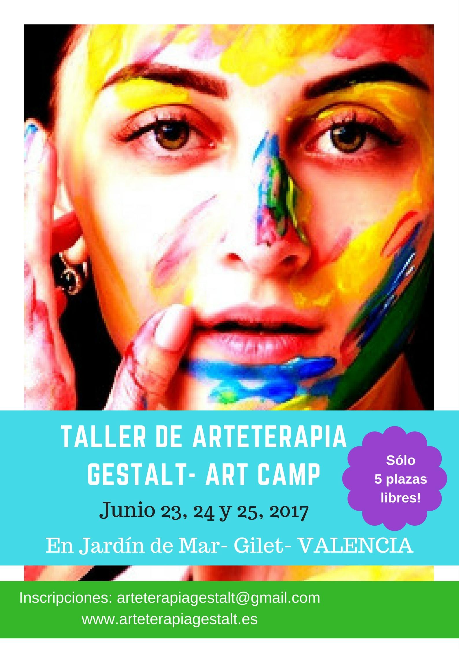 foto #2 de entrada del blog: TALLER Arteterapia Gestalt, Junio 23, 24 y 25, en JARDIN DE MAR- GILET- VALENCIA- Comunidad Valenciana- España