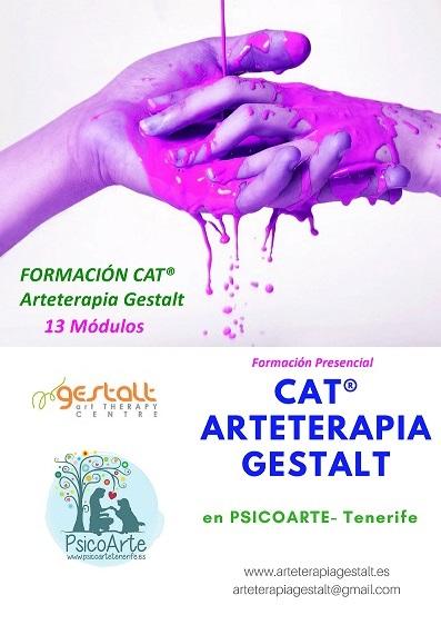 imagen de entrada del blog: 2020 Formación CAT® PRESENCIAL AVANZADO Arteterapia Gestalt en PSICOARTE- Tenerife- España
