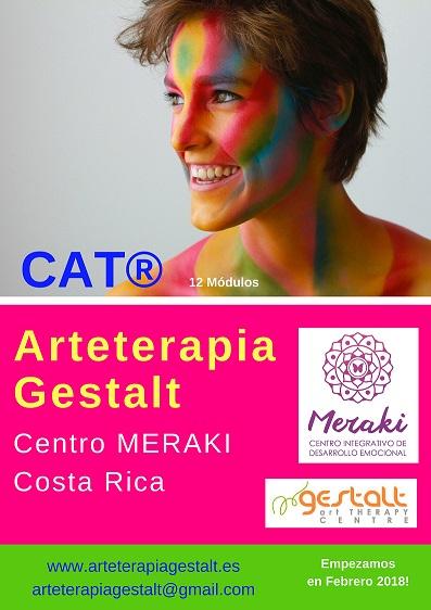 imagen de entrada del blog: 2018 Formación CAT® PRESENCIAL AVANZADO Arteterapia Gestalt en MERAKI Centro Integrativo de Desarrollo Emocional Costa Rica