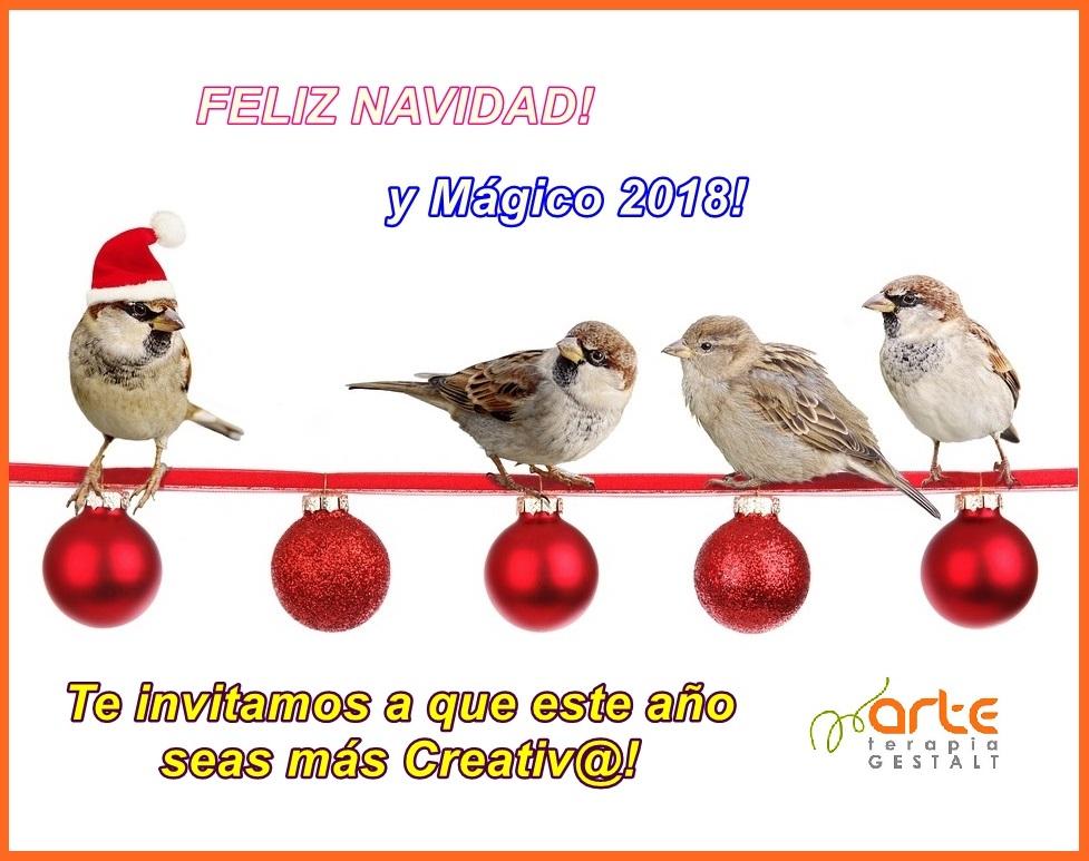 imagen de entrada del blog: FELICES FIESTAS Y MÁGICO 2018!