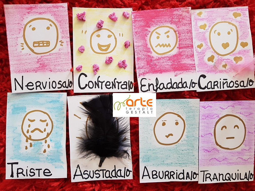 foto #3 de entrada del blog: Taller: Gestión de Emociones en el AULA a través de ARTETERAPIA GESTALT