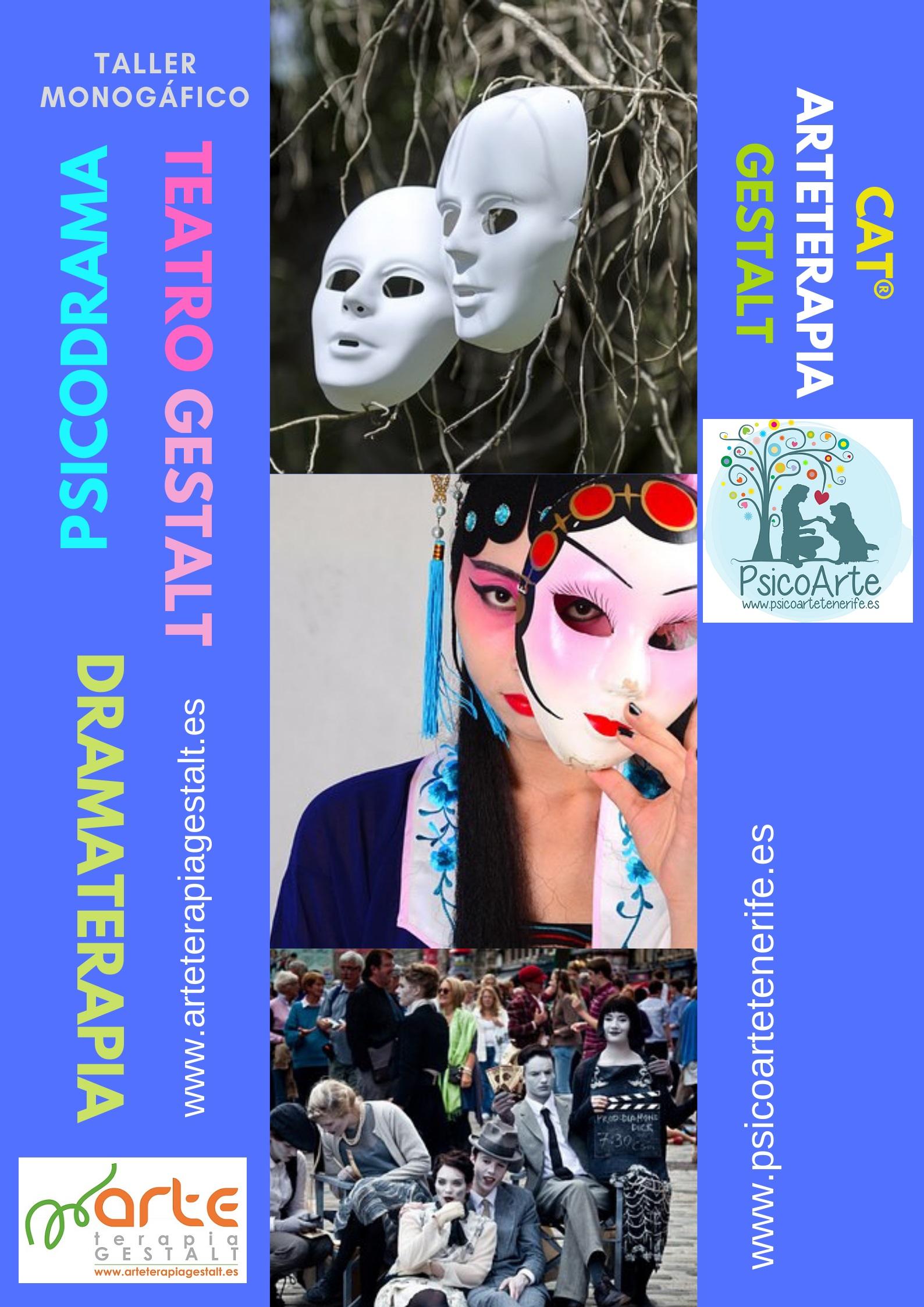 foto #2 de entrada del blog: 2019 Taller Monográfico Psicodrama, Dramaterapia, Teatro Gestalt