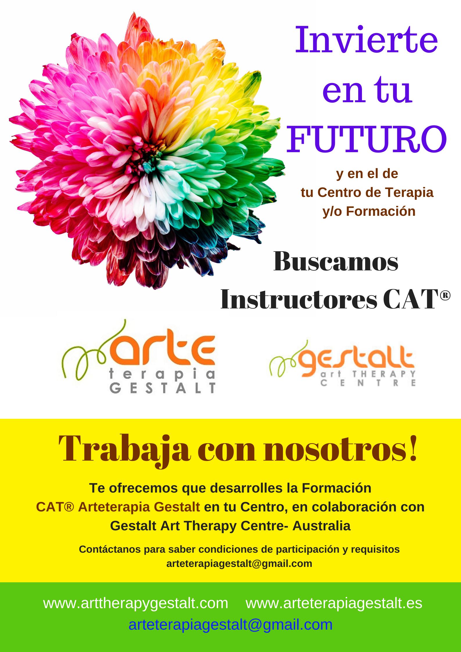 foto #1 de entrada del blog: 2020 TRABAJA CON NOSOTROS! Arteterapia Gestalt Buscamos Instructores CAT©