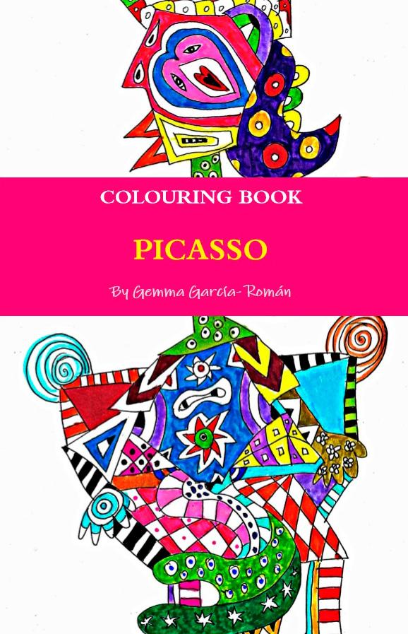 tienda: Libro para Colorear- Picasso