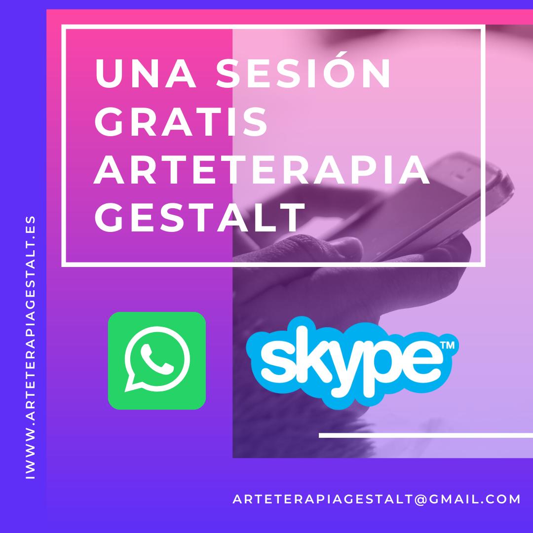imagen: 2020 Sesión gratis online Arteterapia Gestalt